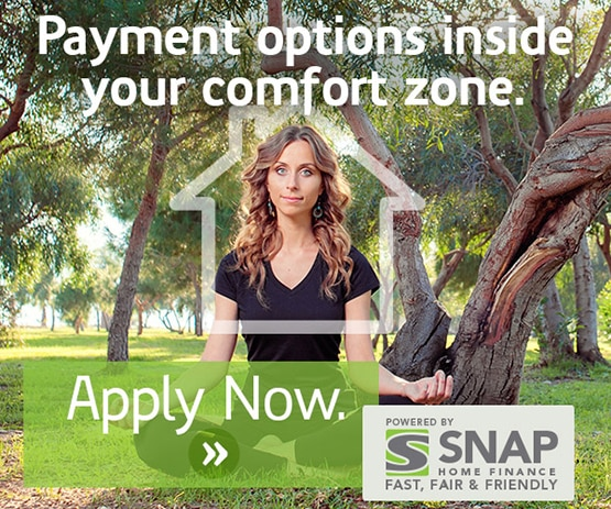 SNAP Financial - Payment options inside your comfort zone. Apply Now >>