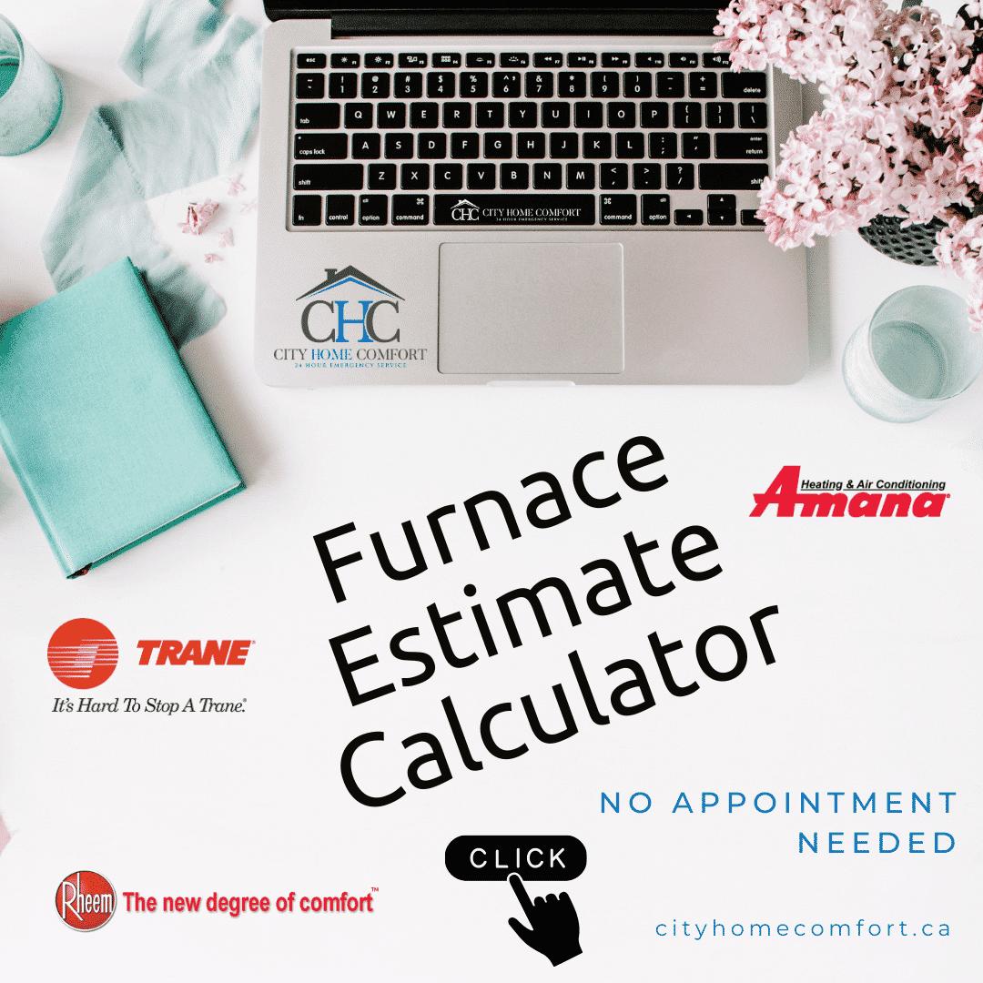 furnace estimate online calculator