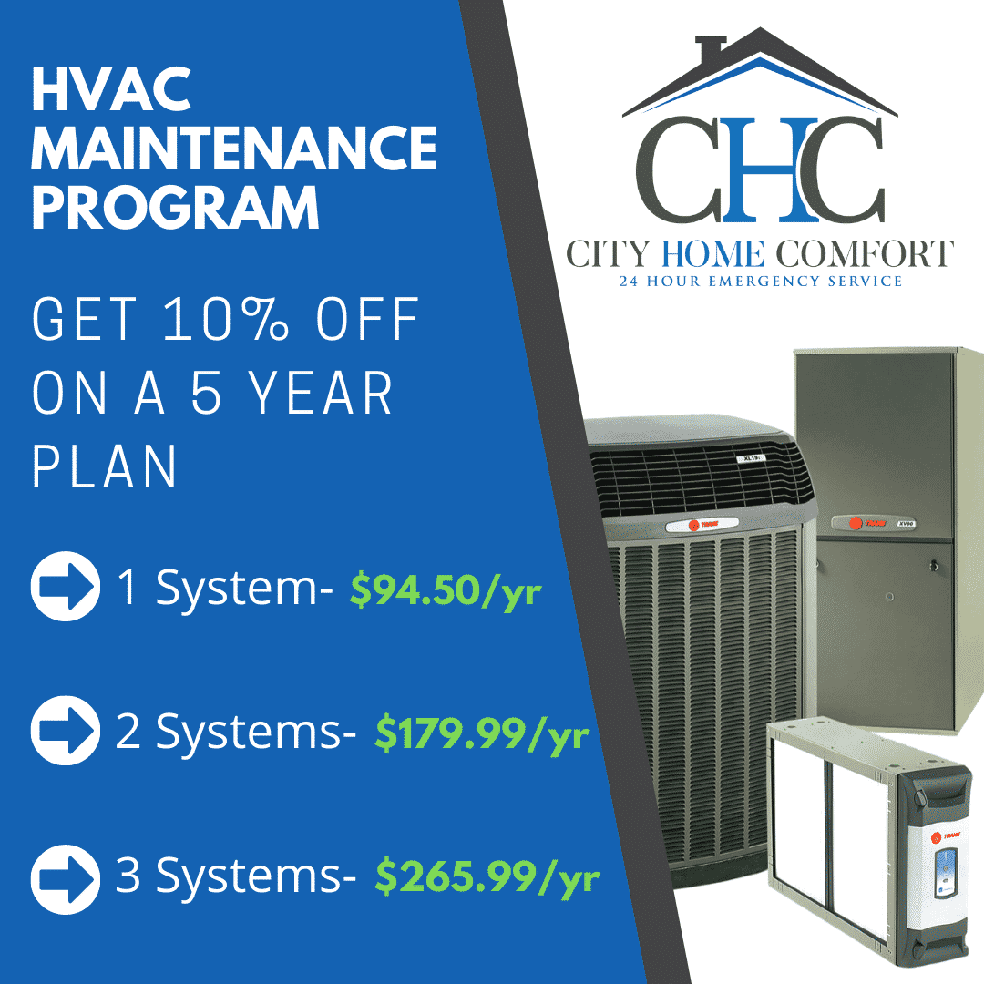 Annual Maintenance Plan - Furnace and AC
